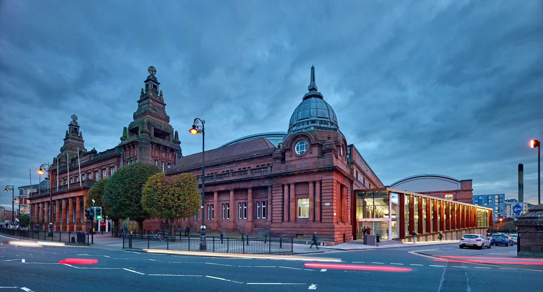 Kelvin Hall, Phase 1
