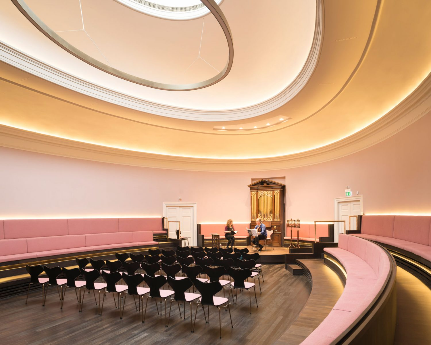 St. Cecilia's Hall Concert Room & Music Museum