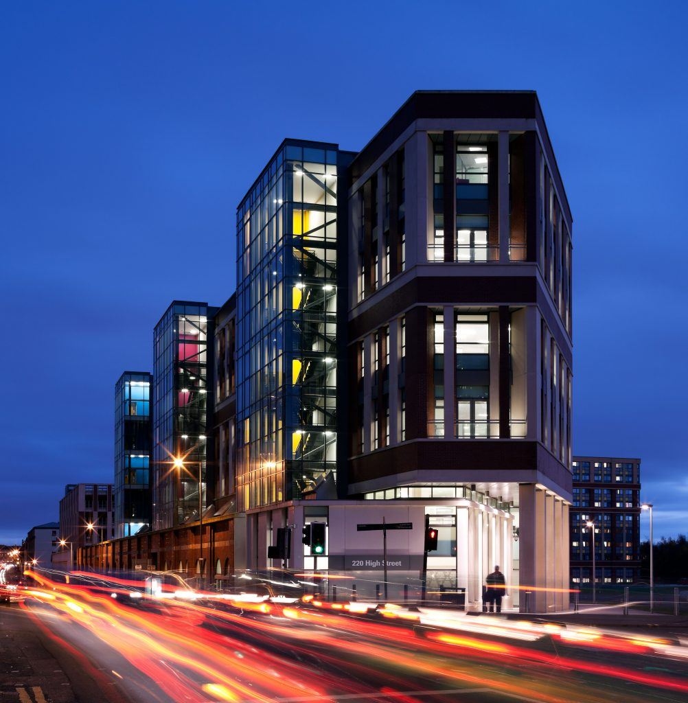 Collegelands, Glasgow Life Offices And Wider Site