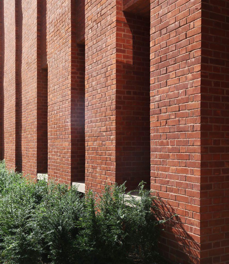 Brick Pier Detail