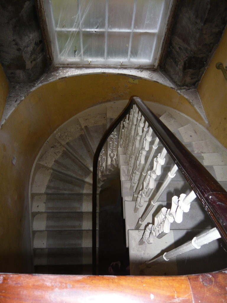 Existing staircase