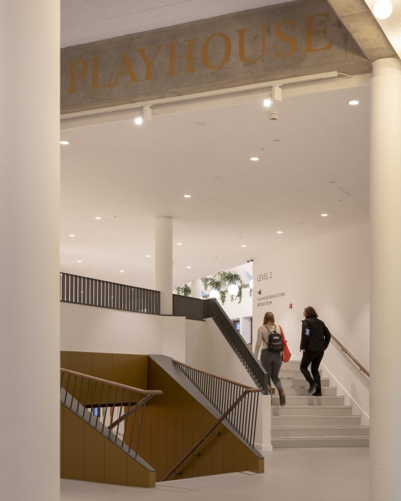 Signage in Playhouse Square Foyer