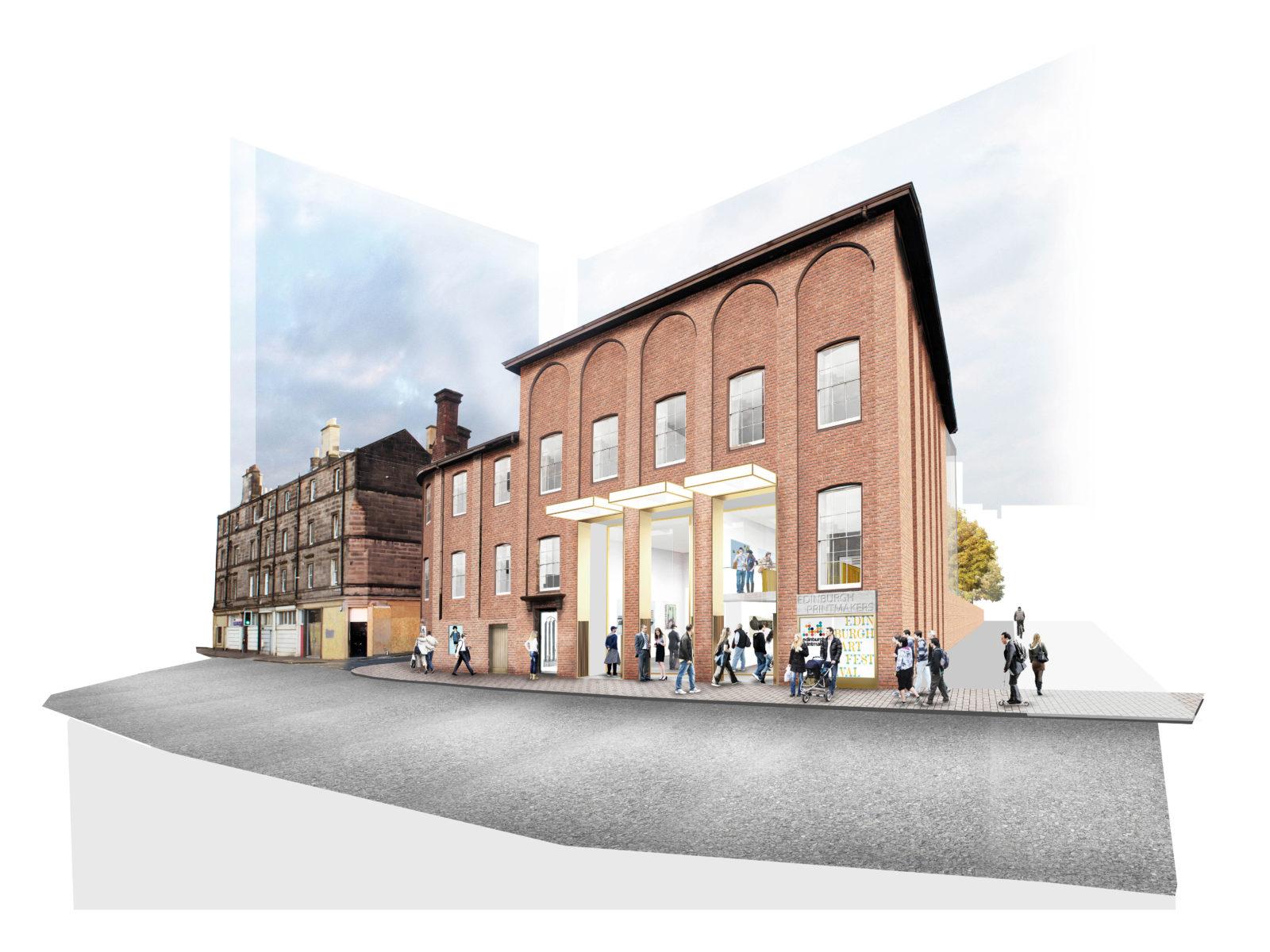 Edinburgh Printmakers, Castle Mill Works Redevelopment