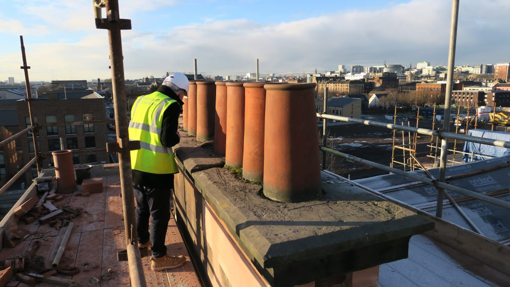Existing chimneys