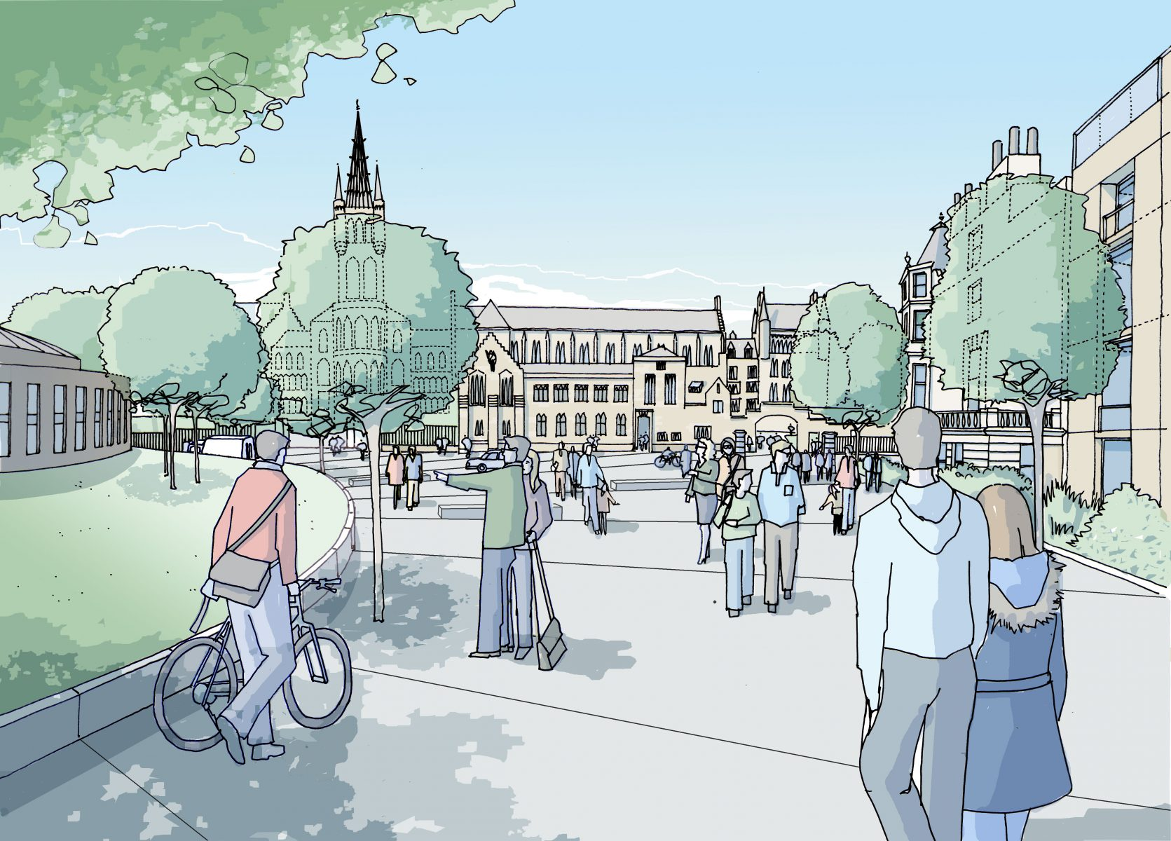 Campus Development Framework, University of Glasgow