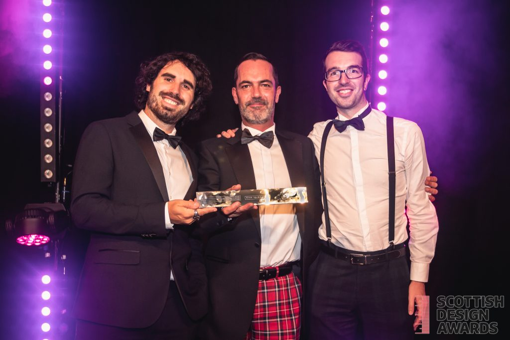 Website win at the Scottish Design Awards