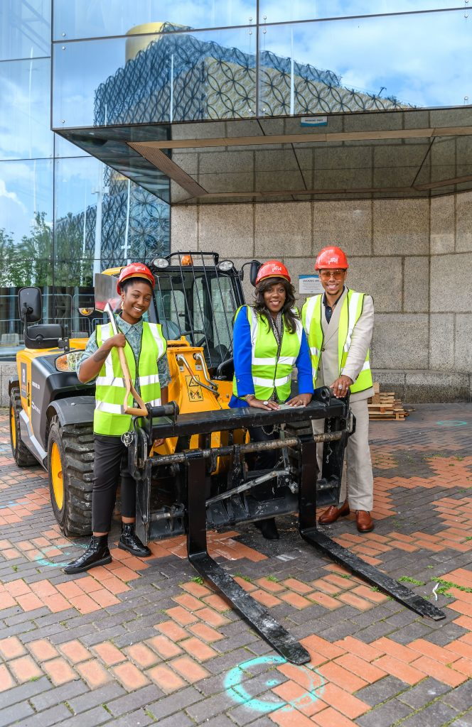 Breaking ground at Birmingham Symphony Hall