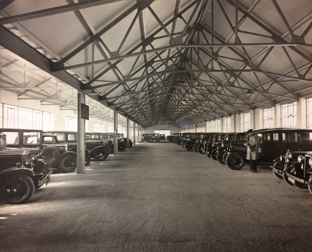 1940s - First Floor Car Park in attraction building