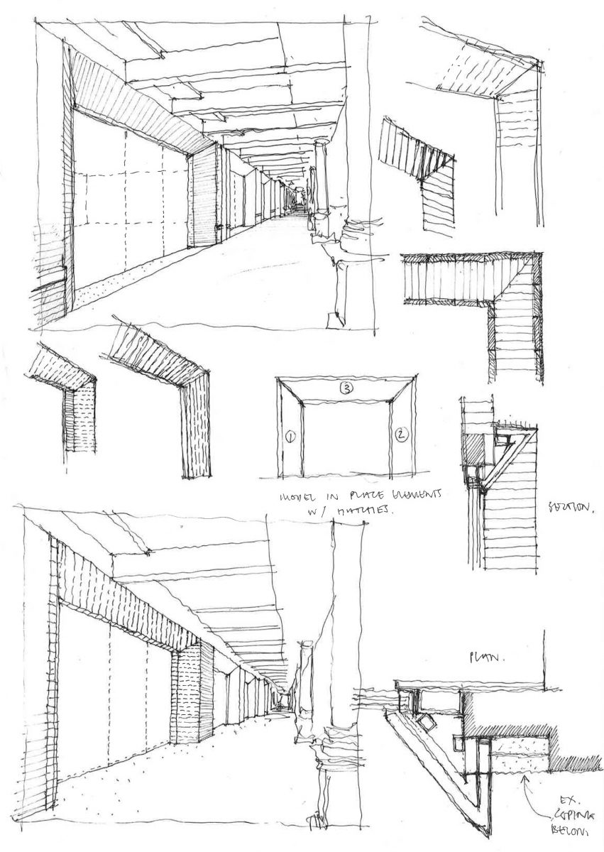Portal detail study