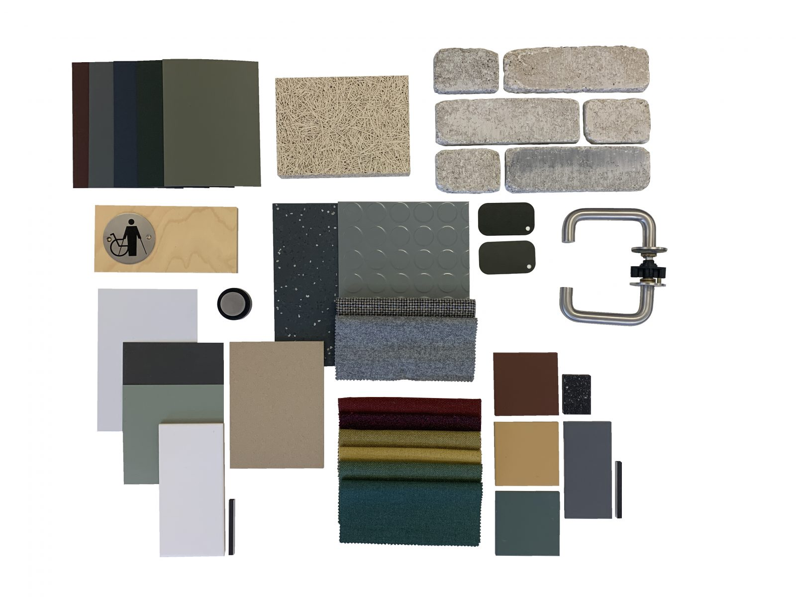 Material palette