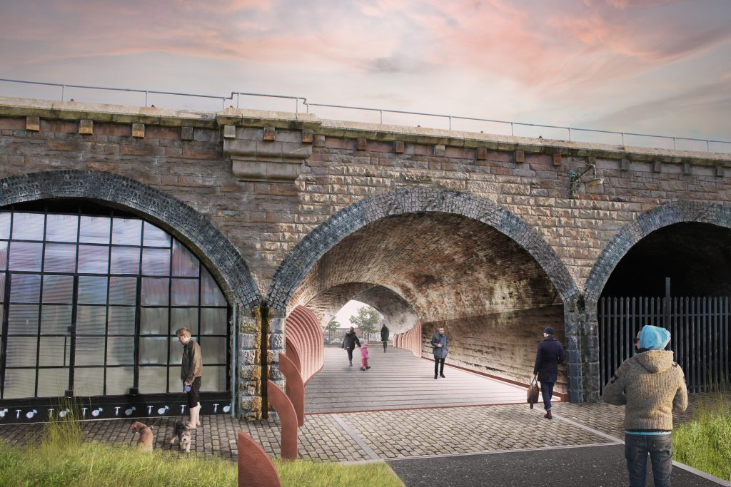 Laurieston Arches Planning Consent
