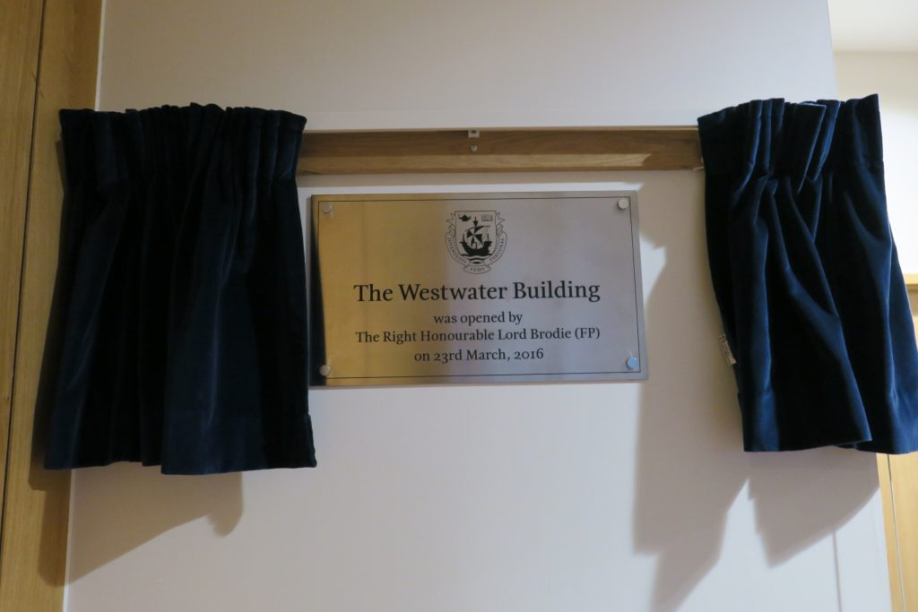 Westwater building official opening