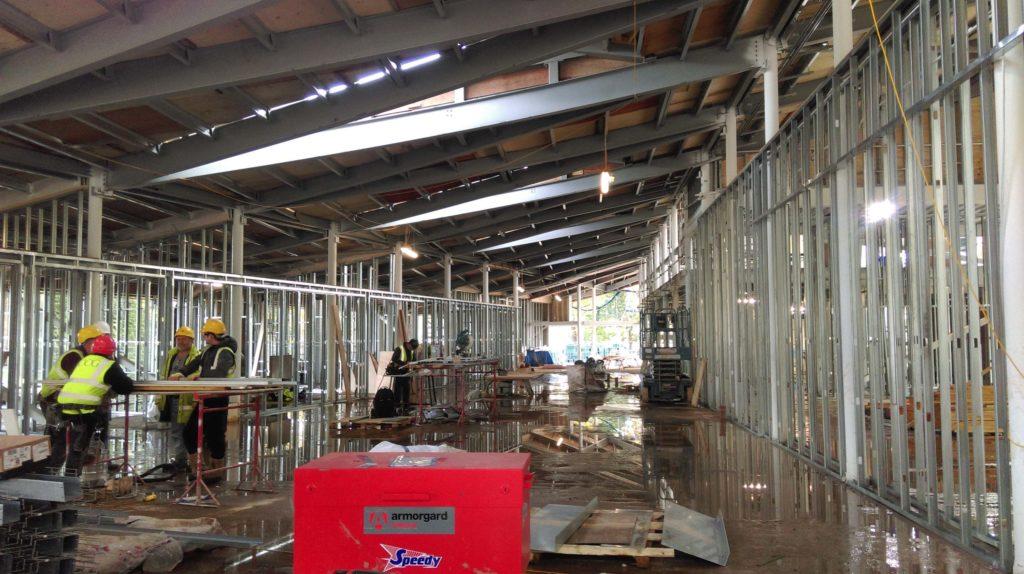 Hawkhead Centre Progress