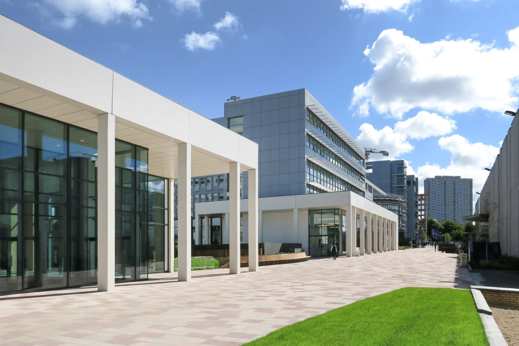 Glasgow Caledonian University, Heart of the Campus