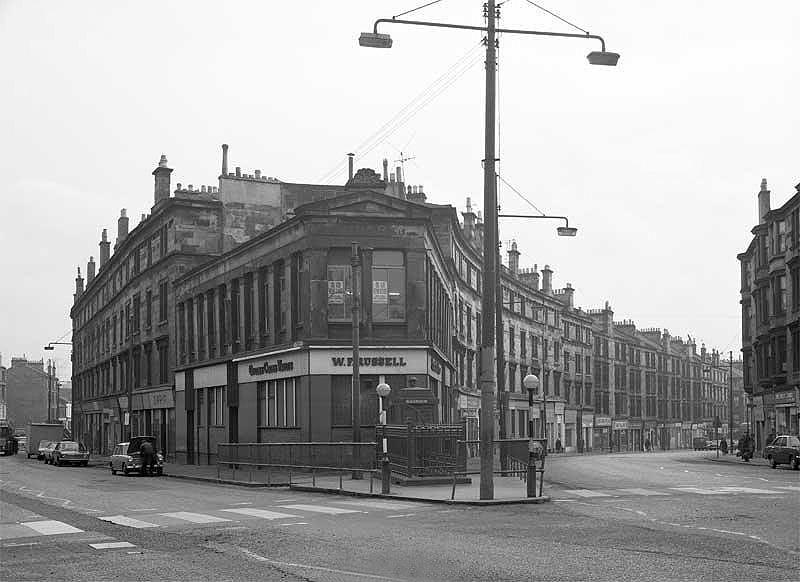 Historic photo of Maryhill Cross