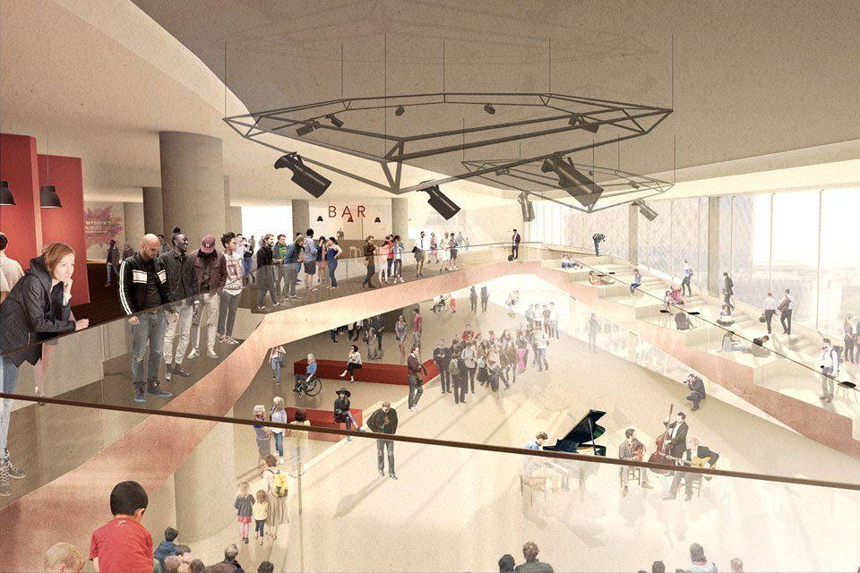 New Project: Birmingham Symphony Hall