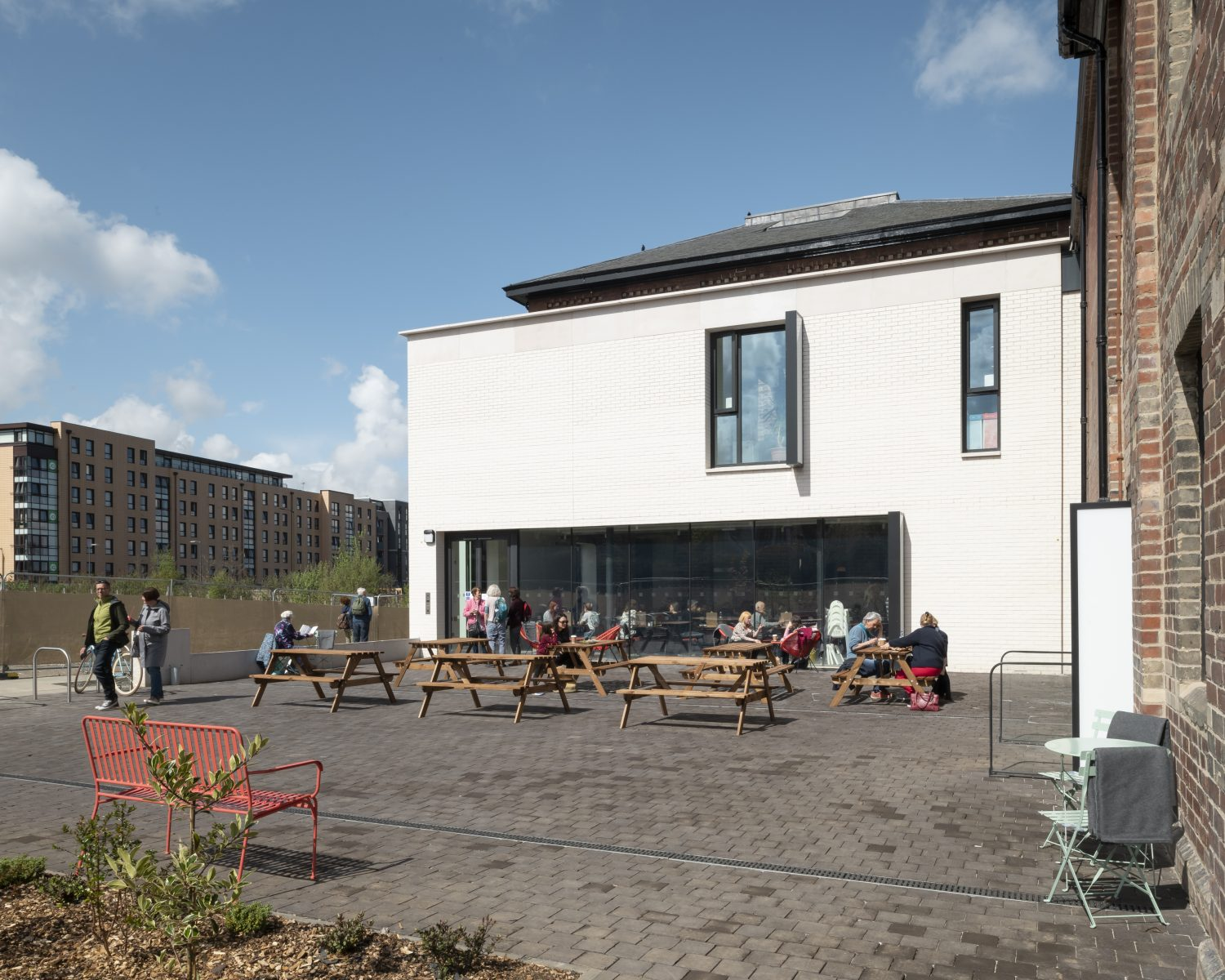 New Extension & Courtyard