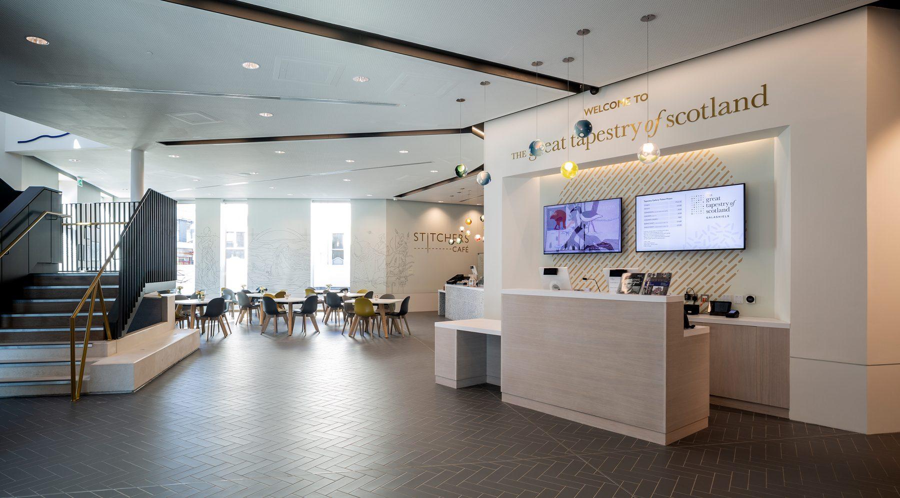 Ground Floor Reception & Cafe