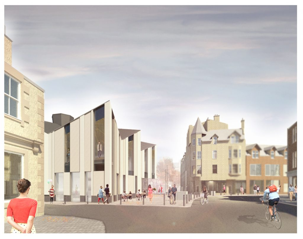 Site start for Great Tapestry of Scotland Gallery