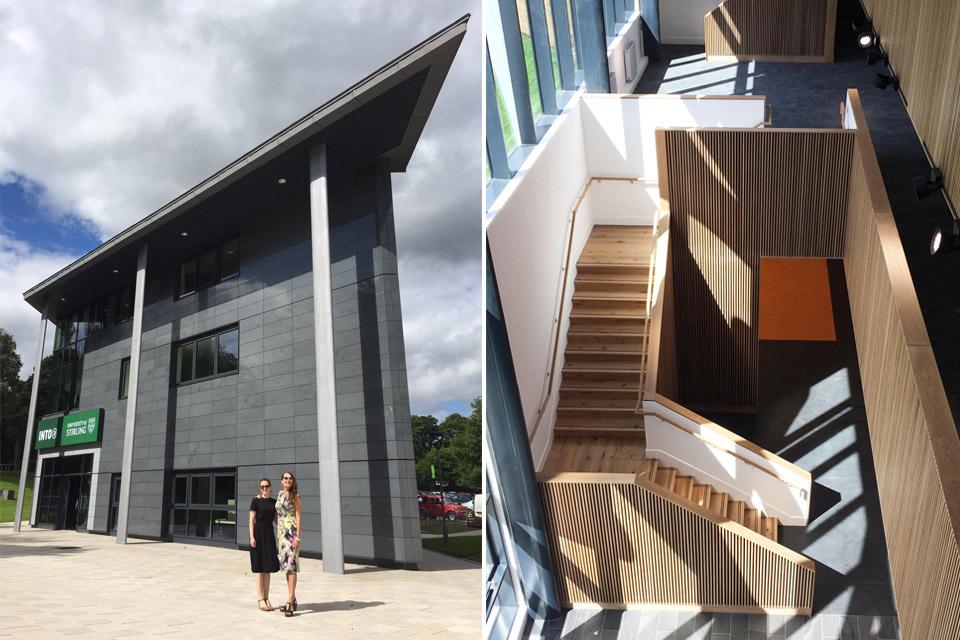 Stirling University INTO Centre