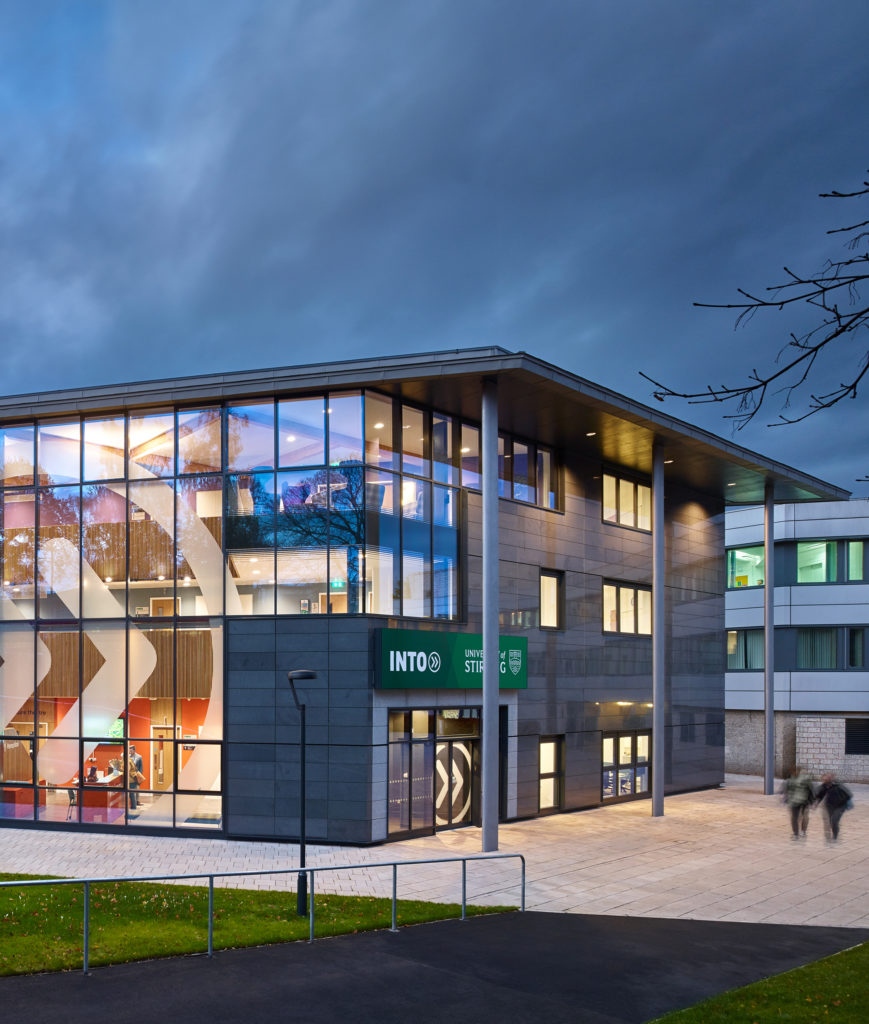 INTO Stirling Building Opens