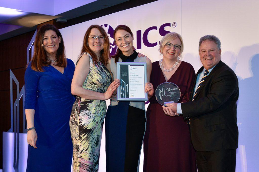 RICS Award winners 2018