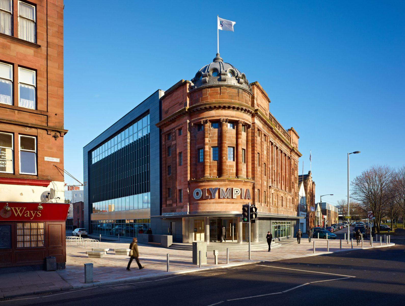 Olympia Building, Bridgeton Cross, Glasgow
