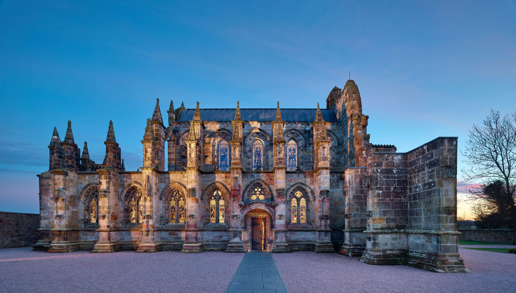 Rosslyn Chapel & Chapel Precinct Conservation