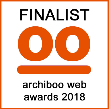 Website shortlisted for Archiboo web award
