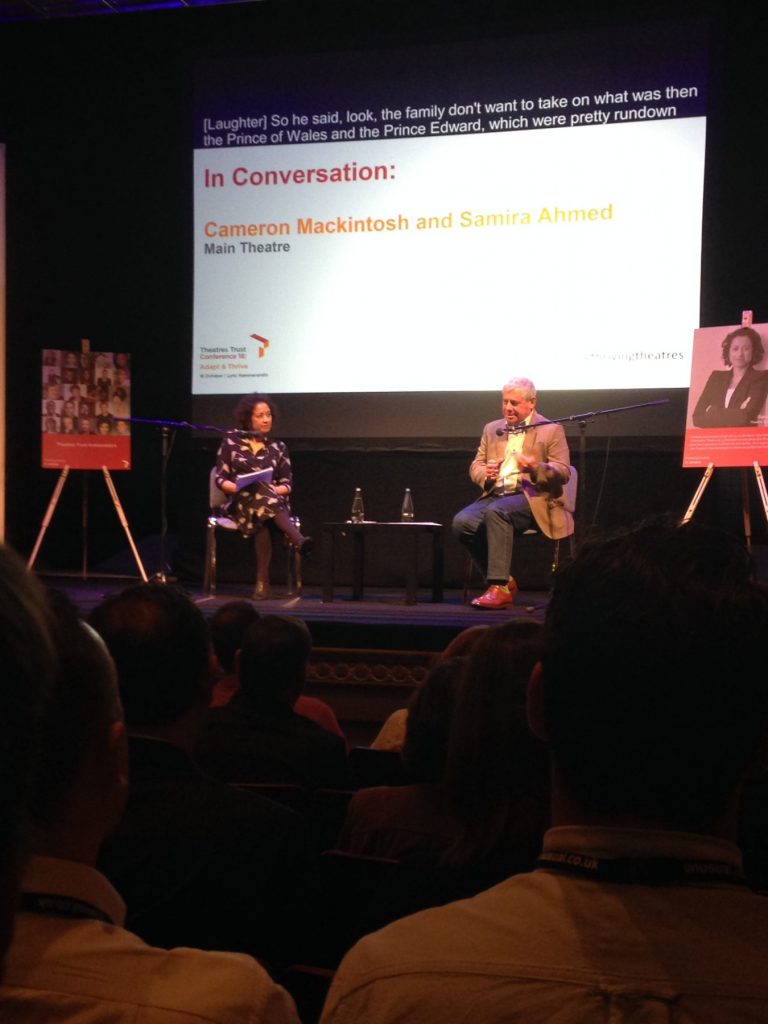 Theatres Trust Conference 2018