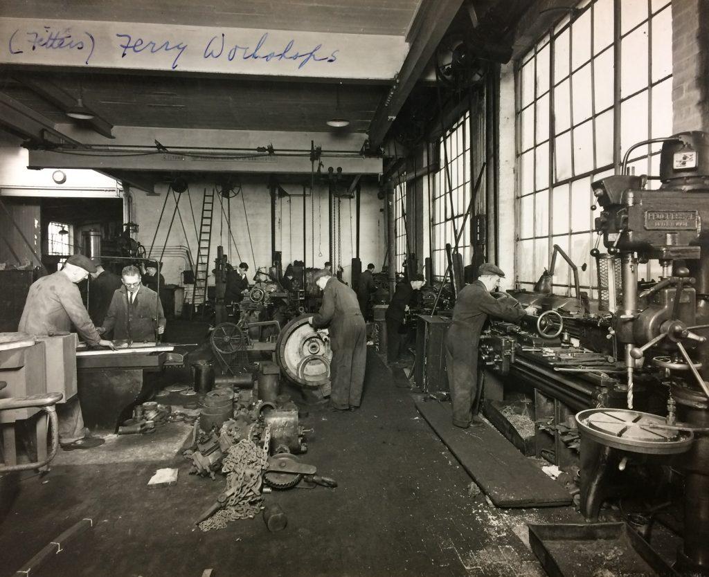 1940s - Ground Floor workshop in the attraction building
