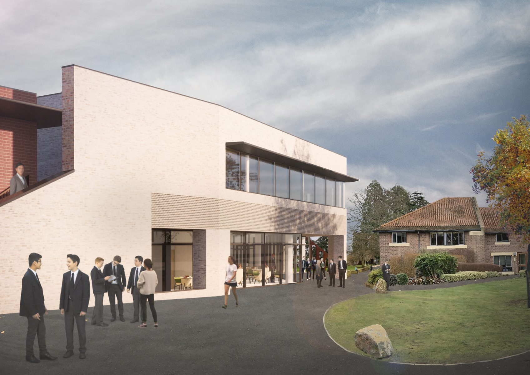 Millfield School, Library Building Refurbishment and Extension