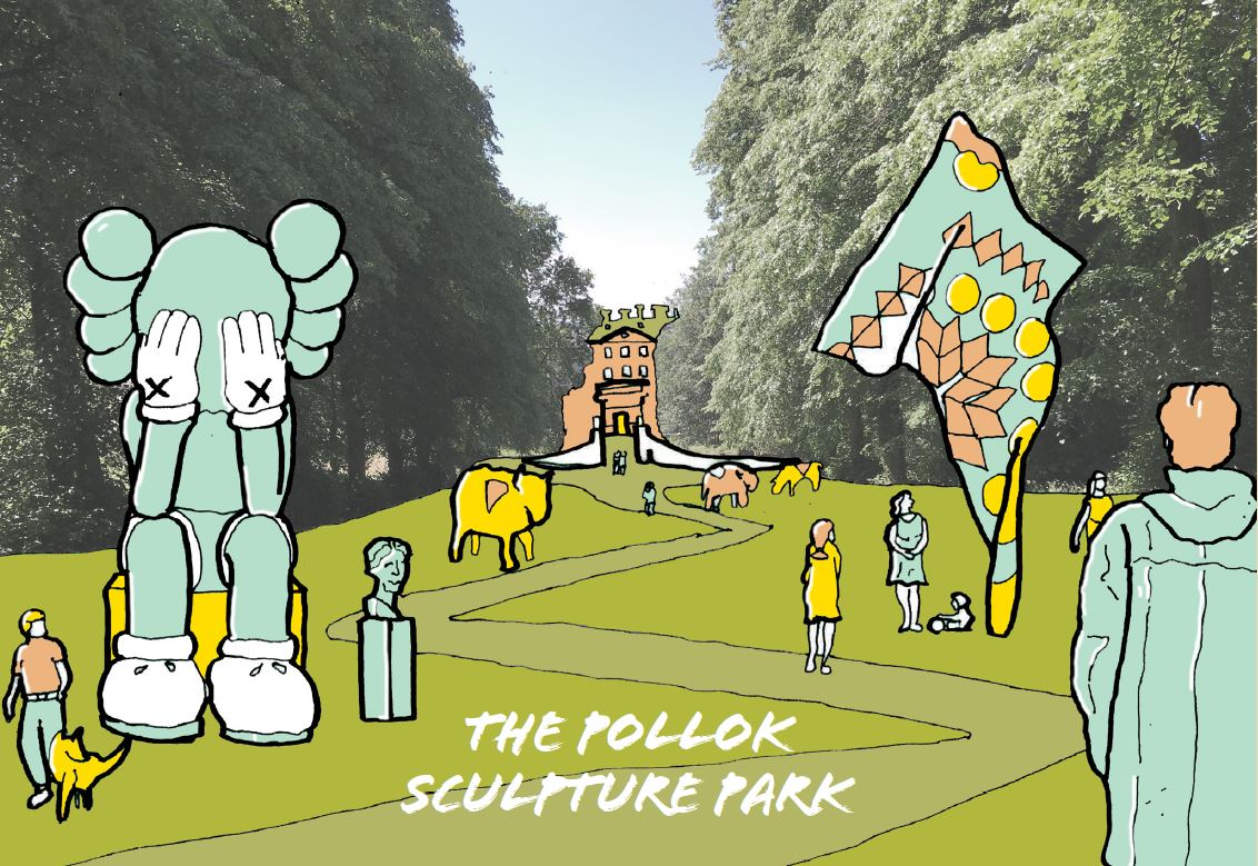 Suggested activity in a reimagined Pollok Park