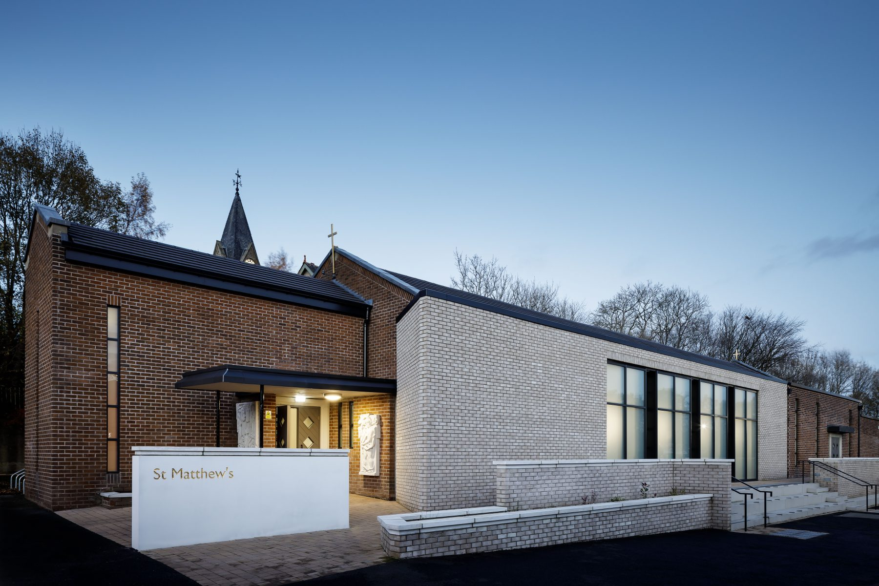 External view of the new extension