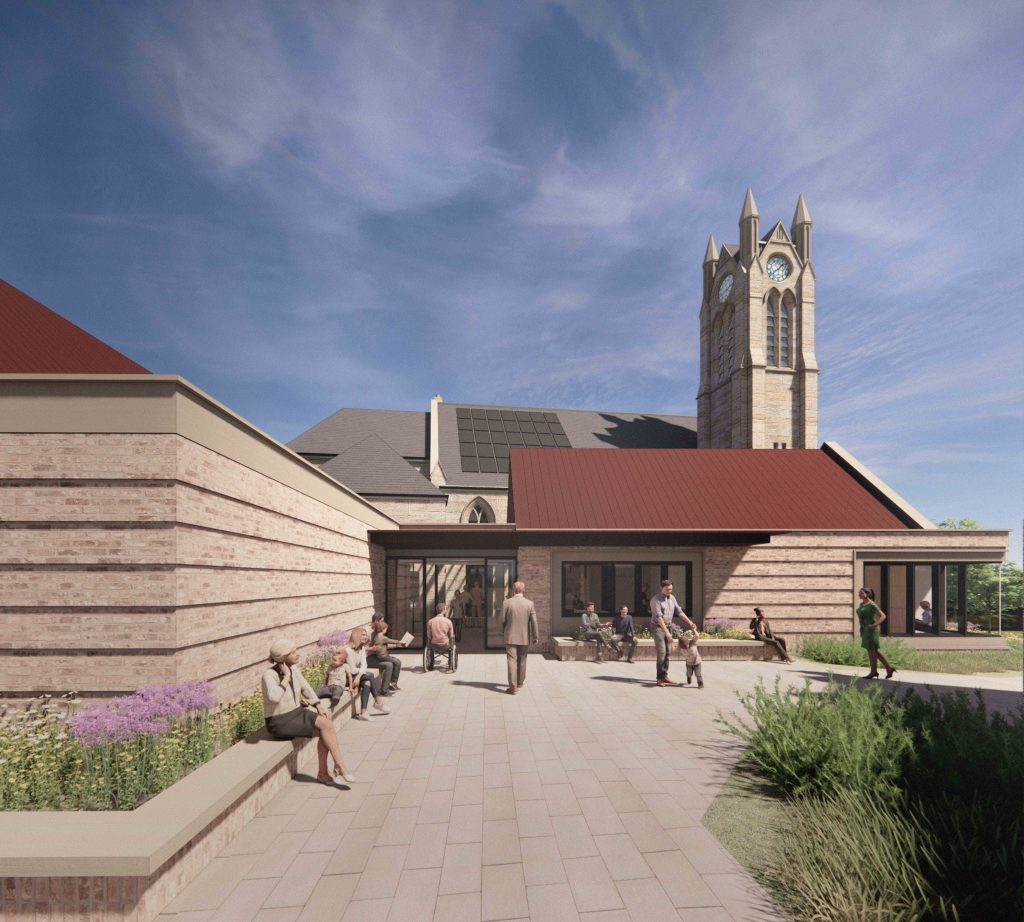 Visualisation of new entrance approach