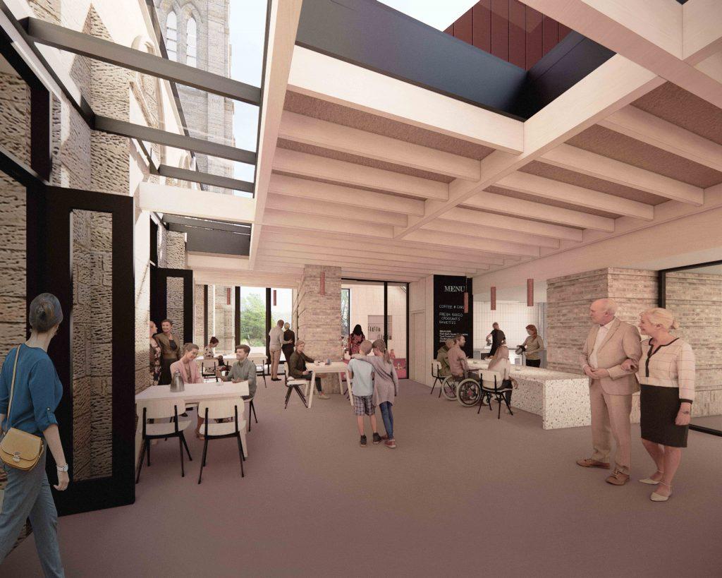 Visualisation of kitchen cloister