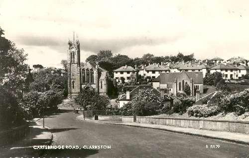 Cartsbridge Road, Clarkston, 1950, Giffnock Heritage Centre