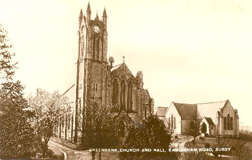 Greenbank Church and Hall, 1920, Giffnock Heritage Centre