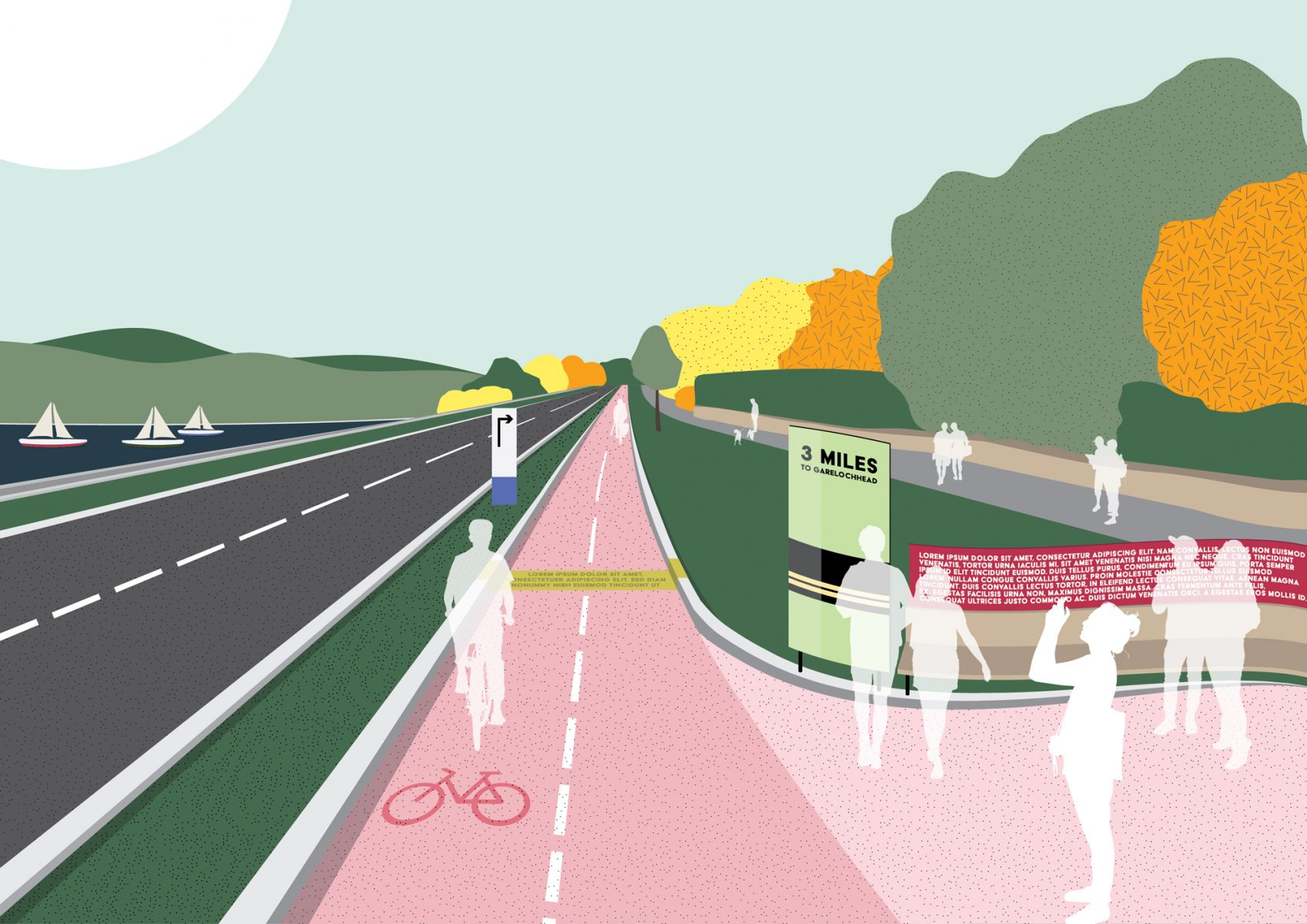 Helensburgh to Garelochhead Active Travel Route