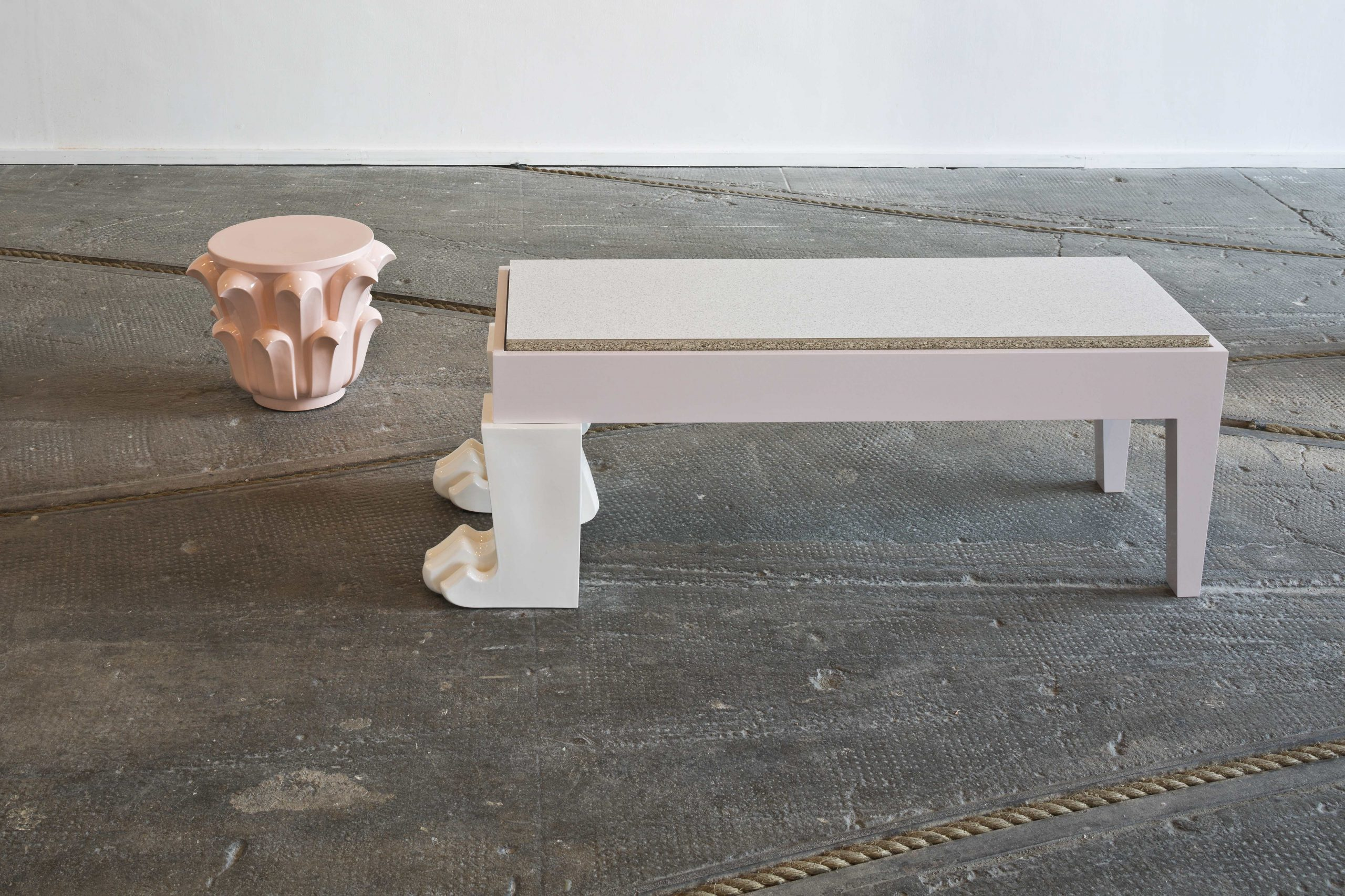 Bench and Plinth